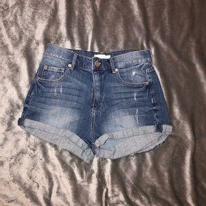 Garage Retro Highwaist Shorts